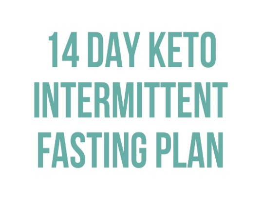 14 DAY KETO INTERMITTENT FASTING PLAN Product Thumbnail