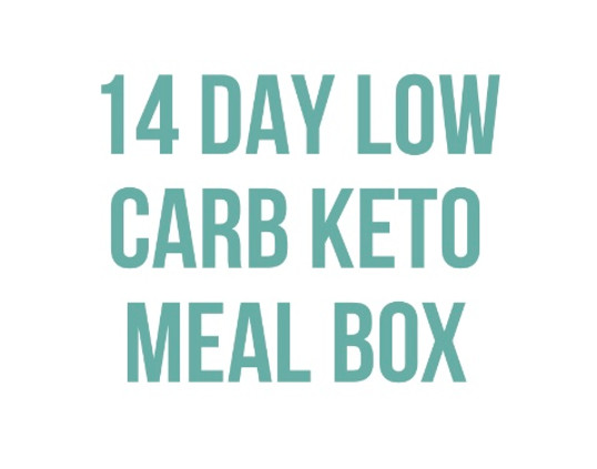 14 Day Low Carb Keto Meal Box Product Thumbnail