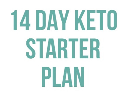 14 DAY KETO STARTER PLAN Product Thumbnail