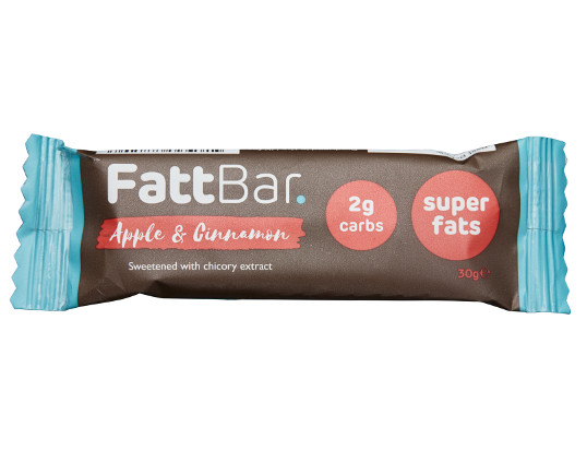 *Apple & Cinnamon Fattbar. (BBE 30/03/2021) Product Thumbnail