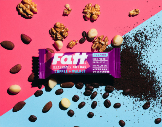 Fatt Coffee & Walnut bar Product Thumbnail