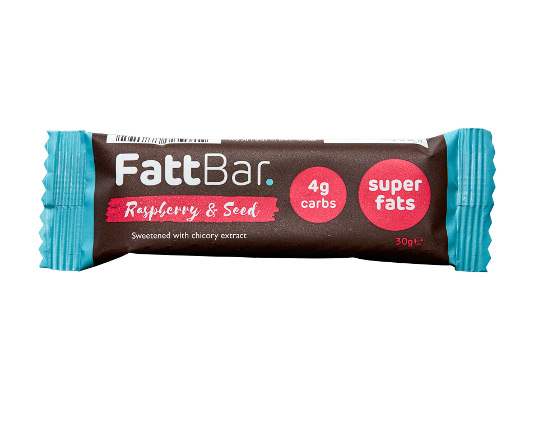 Raspberry & Seed Fattbar. Multipack (30) Product Thumbnail